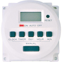7 DAY PROGRAMMABLE TIMER 24V
