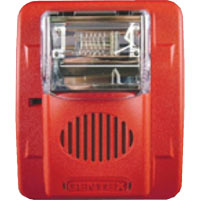 24V STROBE SEL CD WALL RED
